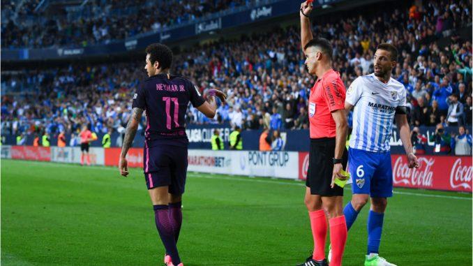 Barcellona ko contro il Malaga e Neymar espulso: cosa dicono i giornali spagnoli?