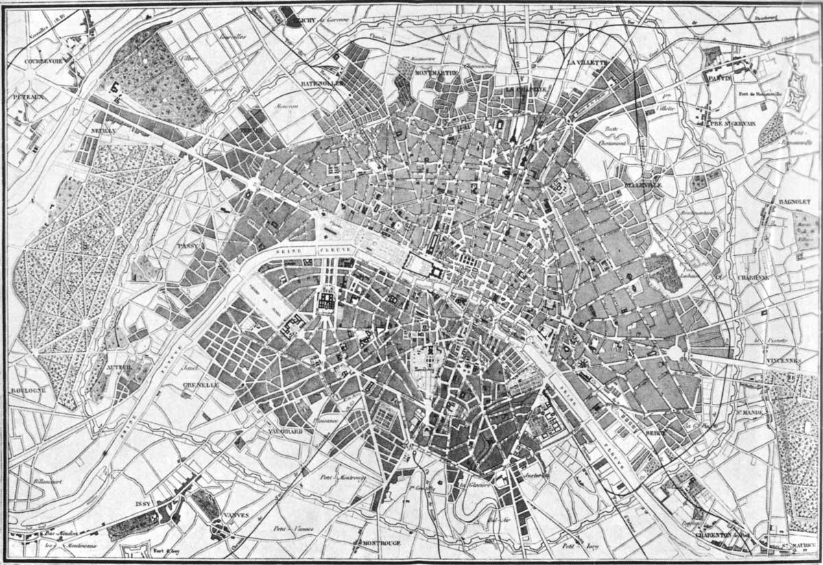 Parigi storia urbanistica della citt for Citta della spezia ultime notizie cronaca