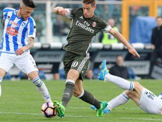 Pescara-Milan 1-1: ecco le pagelle. Donnarumma stecca e l'Europa si allontana