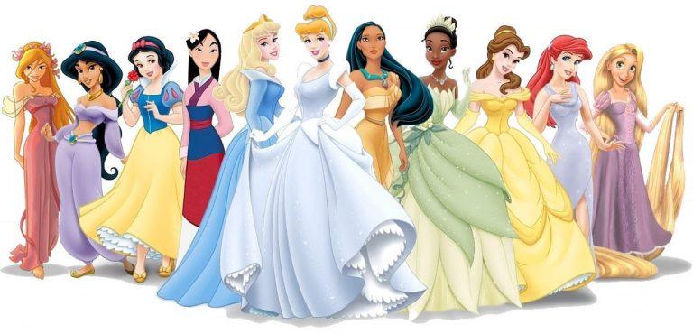 Le più famose principesse Disney
