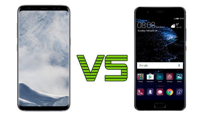 Samsung Galaxy S8 vs Huawei P10: modelli a confronto