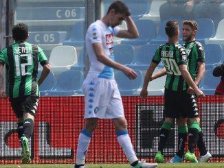 Sassuolo-Napoli 2-2: Milik salva l'onore azzurro, ma non basta. Addio al 2° posto?