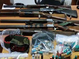 Calabria: maxi sequestro di armi a Crotone. Trovate migliaia di munizioni