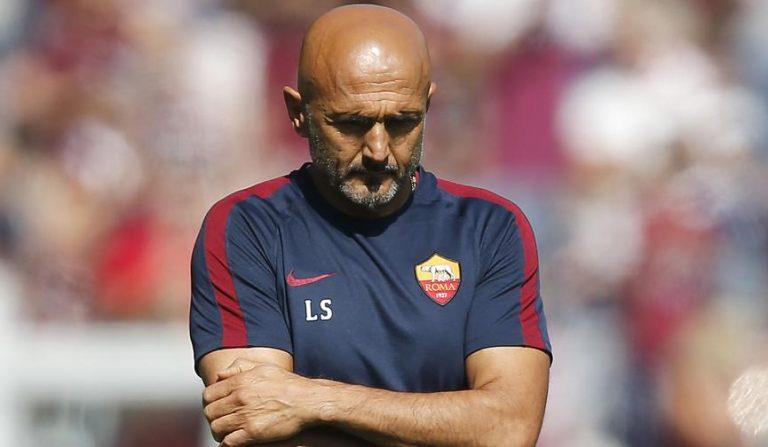 """Roma, Spalletti: """"Se la squadra non vince, sono il primo responsabile. E me ne andrò"""""""