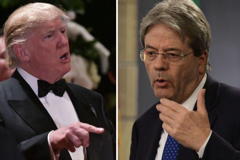 Usa, Gentiloni va da Trump con l'aereo delle polemiche