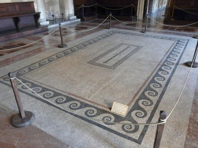 Mosaico bizantino proveniente da Los