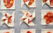 Girandole di sfoglia salate: buone e divertenti. Ecco la ricetta