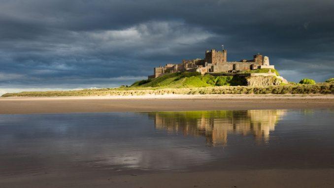Inghilterra, Bamburgh Castle: la leggendaria fortezza di Sir Lancillotto