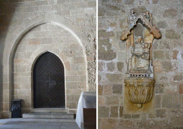 Portale gotico di sinistra