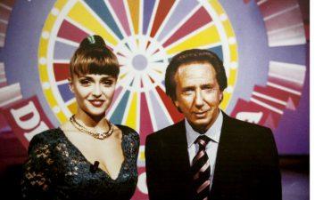 Con Paola Barale