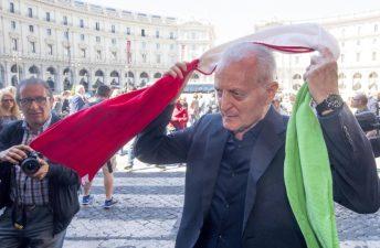 Santo Versace all'ultimo saluto a Laura Biagiotti