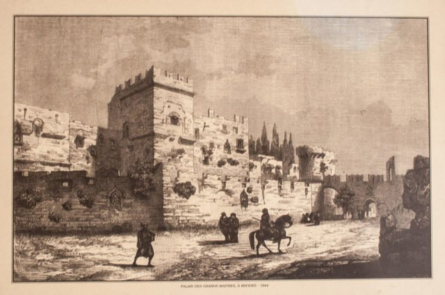 The palace in 1844. Photo Credit 640x425
