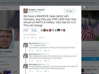 Trump attacca la Germania