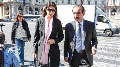 Anche la sindaca di Roma ai funerali di Laura Biagiotti