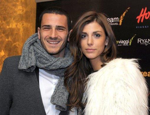 La moglie di Bonucci pubblica una foto