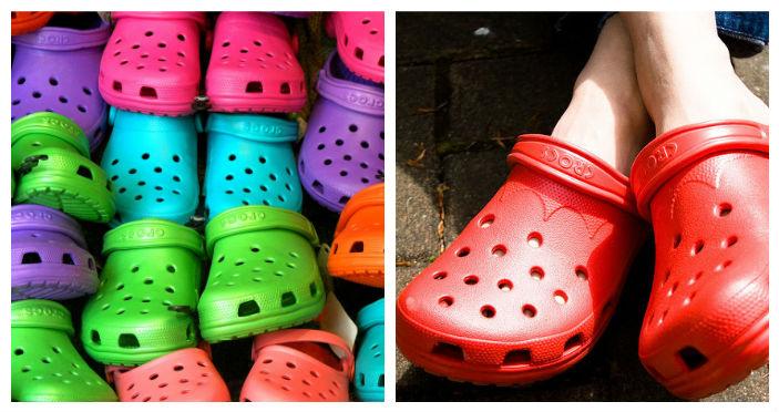pretty nice ac93c 355fe Come lavare e deodorare le Crocs e i sandali di gomma