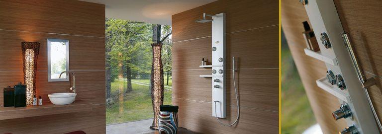 Colonna doccia per idromassaggio: le migliori