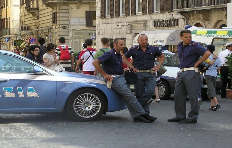 milano, polizia