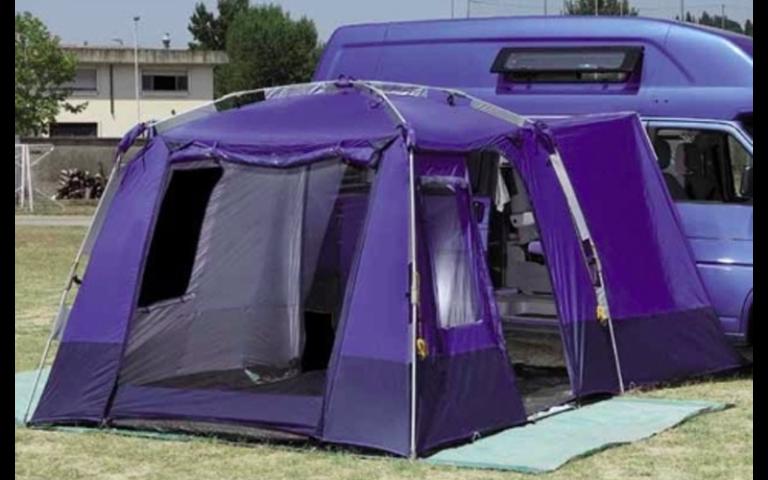 tende da campeggio a casetta