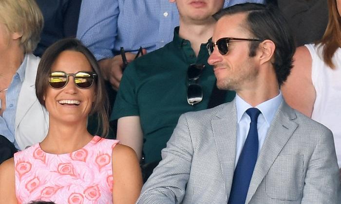 Pippa e il ping-pong con Federer