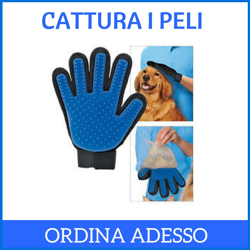GUANTO CATTURA PELI