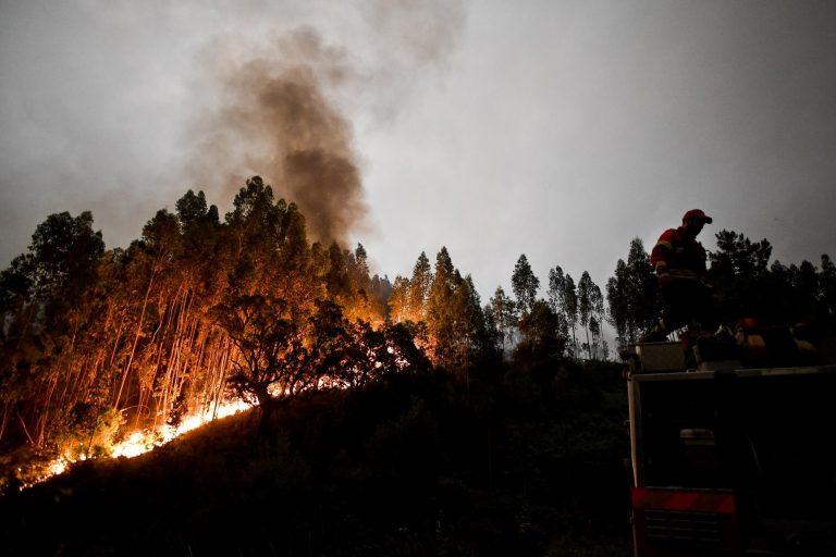 Incendio in Portogallo