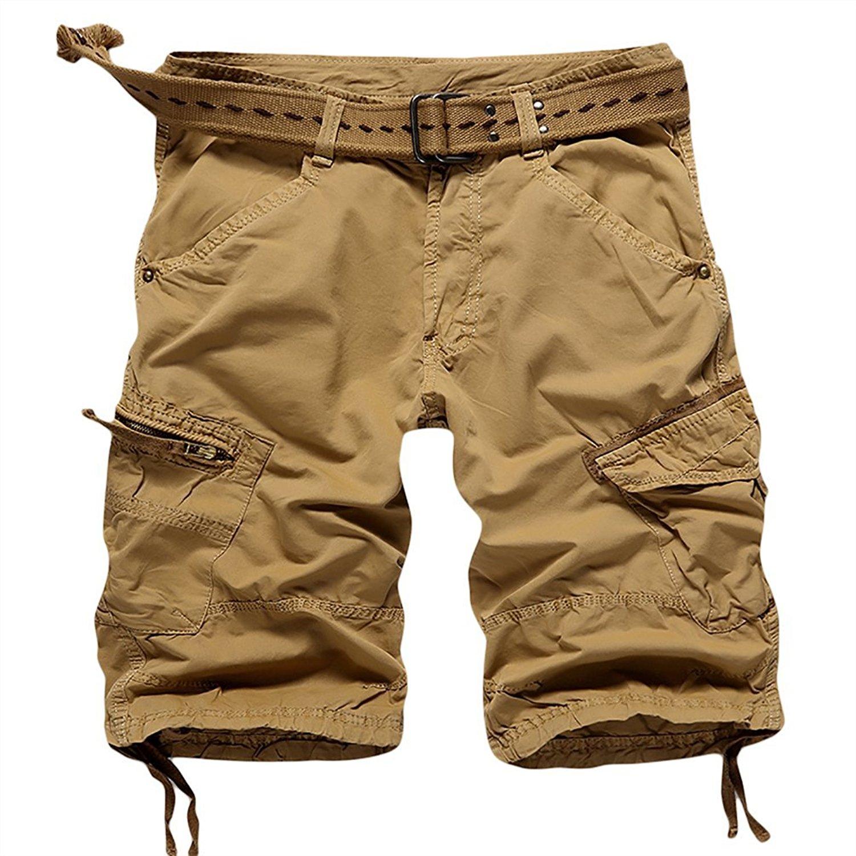ENZO Jeans Da Uomo Cargo Combat Pantaloni in Denim Casual Pantaloni Tutte Le Taglie Vita Gamba