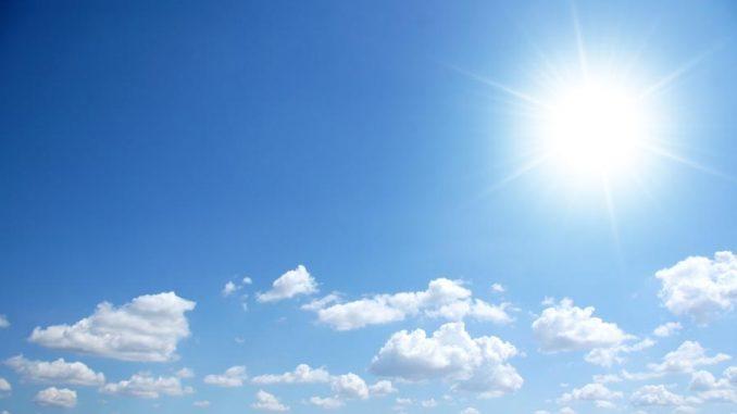 Meteo: cielo nuvoloso, temperature in diminuzione