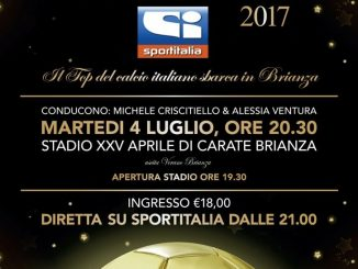 Sportitalia Awards 2017, il gran gala del calcio italiano in Brianza