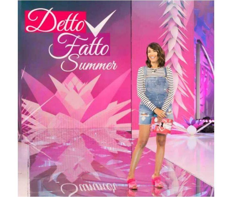 Detto Fatto, Carlo Conti al telefono con Caterina Balivo