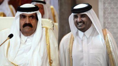 Hamad e Tamim Al- Thani