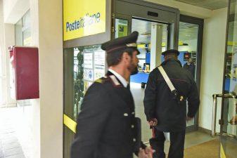 L'Ufficio Postale rapinato