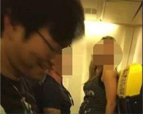 sesso su volo Ryanair