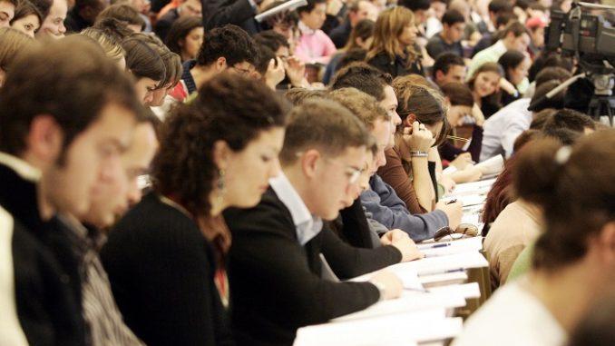 Boom di iscritti all'università