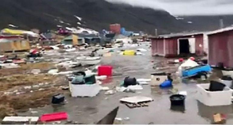 tsunami in Groenlandia