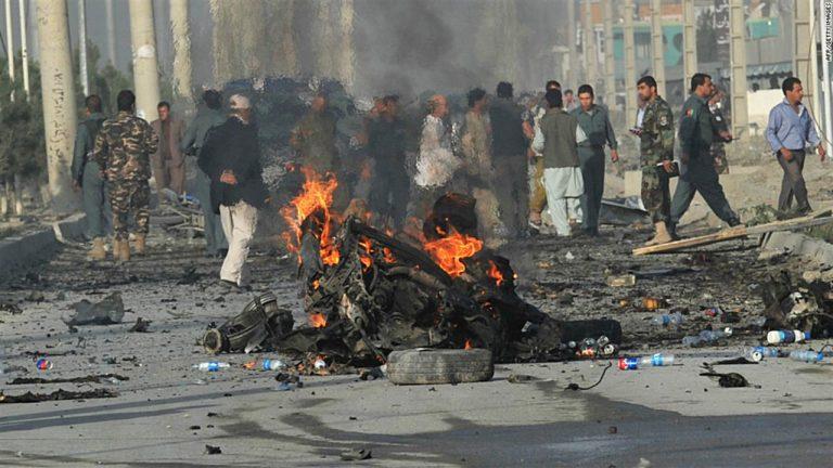 Attentato Kabul