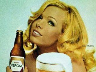 Pubblicità della birra Peroni