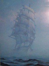 Nave nella nebbia