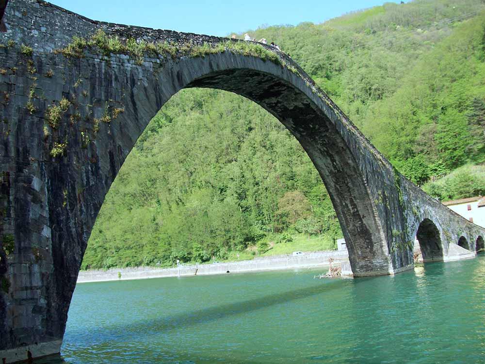 Ponte della Maddalena a Lucca