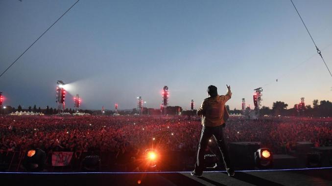 Modena: Vasco Rossi ei suoi 225.000 discepoli protagonisti d'Italia