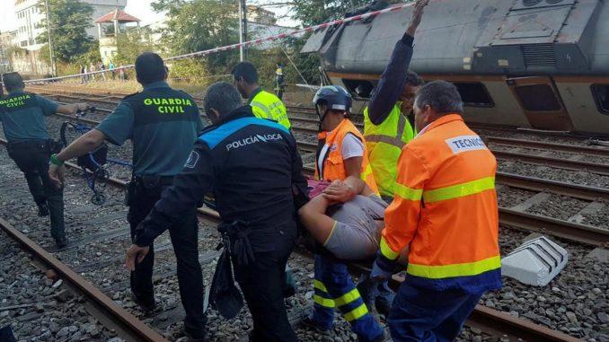 Incidente ferroviario in Spagna: 48 feriti di cui 5 gravi