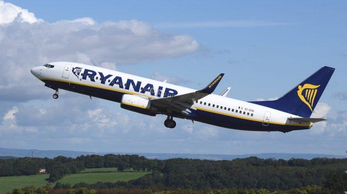 Ryanair lancia nuova promozione: voli a 9,99 euro anche da Catania