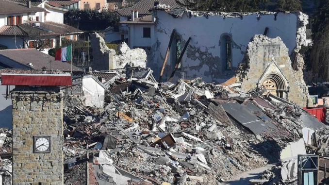 Amatrice choc Imprenditore ride come all'Aquila in una telefonata