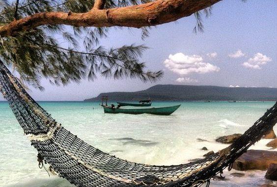 Cambogia beach