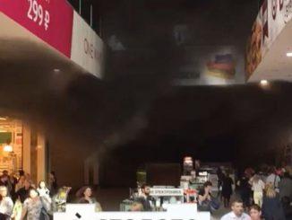 incendio centro commerciale