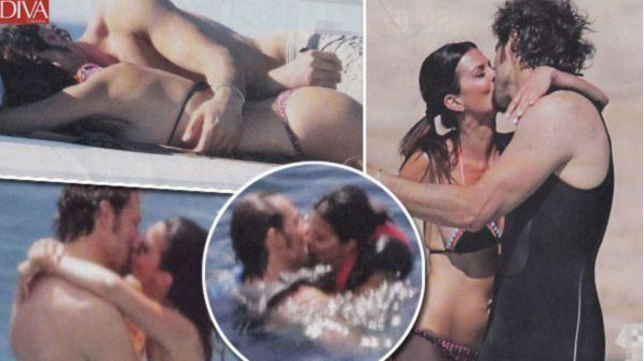 Laura Torrisi e Luca Betti innamorati in vacanza