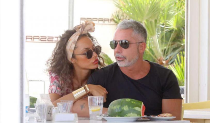 Raffaella Fico e Alessandro Moggi alla conquista di Milano Marittima