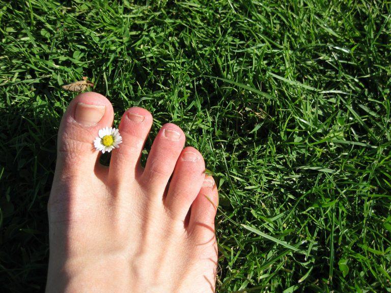 unghie dei piedi