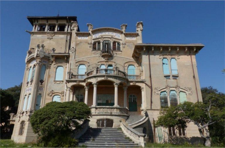 Facciata Villa Zanelli