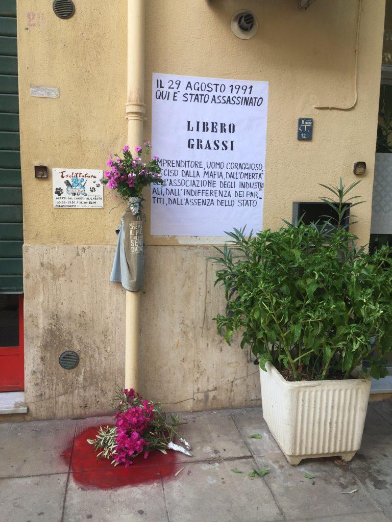 Palermo 29 agosto 1991 omicidio libero grassi